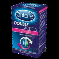 Optone Double Action Solution Oculaire Yeux Secs Fl/10ml à IS-SUR-TILLE