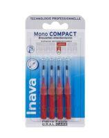 Inava Brossettes Mono-compact Rouge Iso 4 1,5mm à IS-SUR-TILLE
