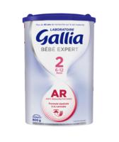Gallia Bebe Expert Ar 2 Lait En Poudre B/800g à IS-SUR-TILLE