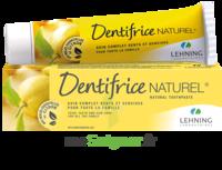 Lehning Pâte Dentifrice Homéopathique Citron T/80g à IS-SUR-TILLE