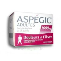 Aspegic Adultes 1000 Mg, Poudre Pour Solution Buvable En Sachet-dose 20 à IS-SUR-TILLE