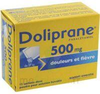 Doliprane 500 Mg Poudre Pour Solution Buvable En Sachet-dose B/12 à IS-SUR-TILLE