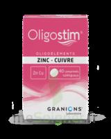 OLIGOSTIM Zinc Cuivre Cpr subl T/40 à IS-SUR-TILLE