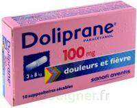 Doliprane 100 Mg Suppositoires Sécables 2plq/5 (10) à IS-SUR-TILLE