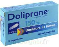 Doliprane 150 Mg Suppositoires 2plq/5 (10) à IS-SUR-TILLE