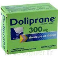 Doliprane 300 Mg Poudre Pour Solution Buvable En Sachet-dose B/12 à IS-SUR-TILLE