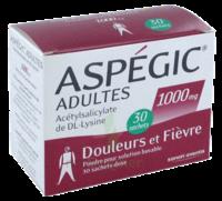 Aspegic Adultes 1000 Mg, Poudre Pour Solution Buvable En Sachet-dose 30 à IS-SUR-TILLE