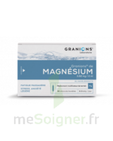 GRANIONS DE MAGNESIUM 3,82 mg/2 ml S buv 30Amp/2ml à IS-SUR-TILLE