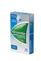 NICORETTE 4 mg Gom à mâcher médic sans sucre menthe glaciale Plq/30gom à IS-SUR-TILLE