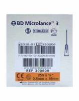 Bd Microlance 3, G25 5/8, 0,5 Mm X 16 Mm, Orange  à IS-SUR-TILLE
