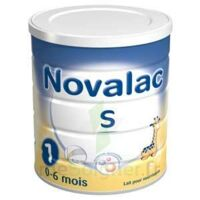 Novalac S 1 Lait en poudre 800g à IS-SUR-TILLE