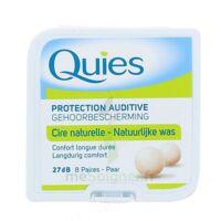 QUIES PROTECTION AUDITIVE CIRE NATURELLE 8 PAIRES à IS-SUR-TILLE
