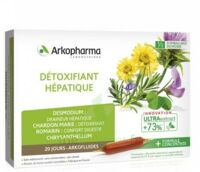 Arkofluide Bio Ultraextract Solution buvable détoxifiant hépatique 20 Ampoules/10ml à IS-SUR-TILLE