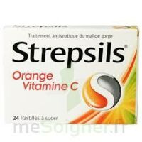 STREPSILS ORANGE VITAMINE C, pastille à IS-SUR-TILLE