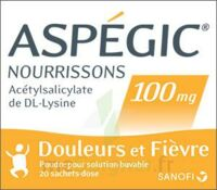Aspegic Nourrissons 100 Mg, Poudre Pour Solution Buvable En Sachet-dose à IS-SUR-TILLE