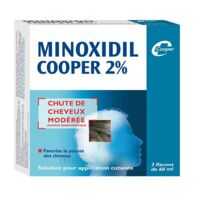 MINOXIDIL COOPER 2 %, solution pour application cutanée en flacon à IS-SUR-TILLE