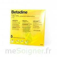 Betadine Tulle 10 % Pans Méd 10x10cm 5sach/1 à IS-SUR-TILLE