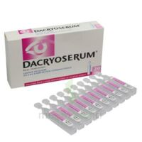 DACRYOSERUM Solution pour lavage ophtalmique en récipient unidose 20Unidoses/5ml à IS-SUR-TILLE