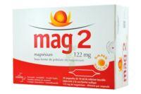 MAG 2 122 mg S buv en ampoule sans sucre édulcoré à la saccharine sodique 30Amp/10ml à IS-SUR-TILLE