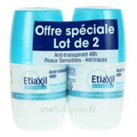 Etiaxil Deo 48h Roll-on Lot 2 à IS-SUR-TILLE