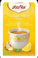 Yogi Tea Gingembre Citron à IS-SUR-TILLE