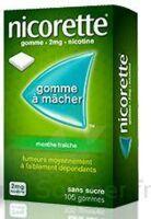 NICORETTE 2 mg Gom à mâcher médic sans sucre menthe fraîche Plq/30gom à IS-SUR-TILLE