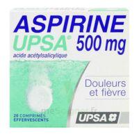 Aspirine Upsa 500 Mg, Comprimé Effervescent à IS-SUR-TILLE