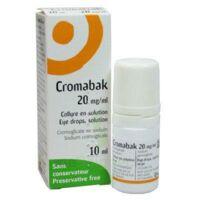 Cromabak 20 Mg/ml, Collyre En Solution à IS-SUR-TILLE
