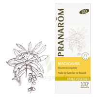 Pranarom Huile Végétale Bio Macadamia 50ml à IS-SUR-TILLE