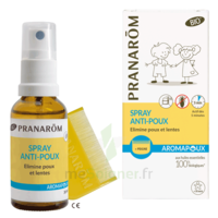 Pranarôm Aromapoux Bio Spray anti-poux 30ml+peigne à IS-SUR-TILLE