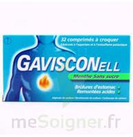 Gavisconell Coprimés à Croquer Sans Sucre Menthe édulcoré à L'aspartam Et à L'acésulfame Potas Plq/24 à IS-SUR-TILLE