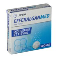 EFFERALGANMED 500 mg, comprimé effervescent sécable à IS-SUR-TILLE