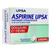 Aspirine Upsa Tamponnee Effervescente 1000 Mg, Comprimé Effervescent à IS-SUR-TILLE