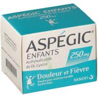 Aspegic Enfants 250, Poudre Pour Solution Buvable En Sachet-dose à IS-SUR-TILLE