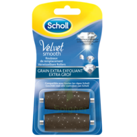 Scholl Velvet Smooth Rouleaux De Remplacement  Grain Extra Exfoliant à IS-SUR-TILLE