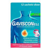 GAVISCONELL Suspension buvable sachet-dose menthe sans sucre 12Sach/10ml à IS-SUR-TILLE