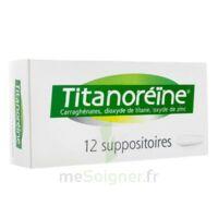 TITANOREINE Suppositoires B/12 à IS-SUR-TILLE