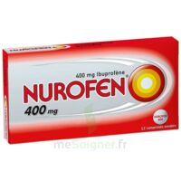 Nurofen 400 Mg Comprimés Enrobés Plq/12 à IS-SUR-TILLE