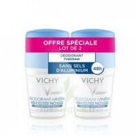Vichy Déodorant Sans Sels D'aluminium 48h 2 Billes/50ml