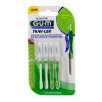 Gum Trav - Ler, 1,1 Mm, Manche Vert , Blister 4 à IS-SUR-TILLE