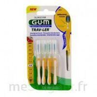 Gum Trav - Ler, 1,3 Mm, Manche Jaune , Blister 4 à IS-SUR-TILLE