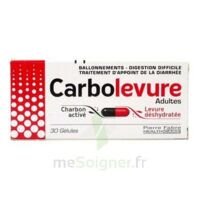 Carbolevure Gélules Adulte Plq/30 à IS-SUR-TILLE