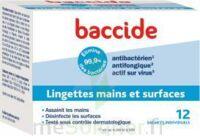 Baccide Lingette désinfectante mains & surface 12 Pochettes à IS-SUR-TILLE