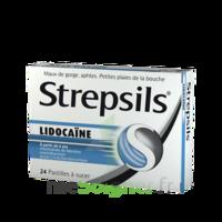 Strepsils lidocaïne Pastilles Plq/24 à IS-SUR-TILLE