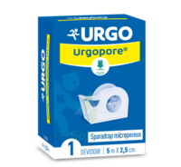 Urgopore Géant Sparadrap 2,5cmx9,14m dévidoir à IS-SUR-TILLE