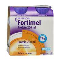 Fortimel Protein Nutriment Caramel 4 Bouteilles/200ml à IS-SUR-TILLE
