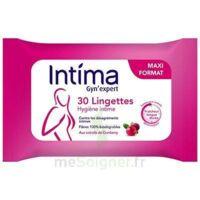 Intima Gyn'Expert Lingettes Cranberry Paquet/30 à IS-SUR-TILLE