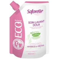 Saforelle Solution Soin Lavant Doux Eco-recharge/400ml à IS-SUR-TILLE