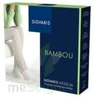 Sigvaris Bambou 2 Chaussette femme noir L large à IS-SUR-TILLE