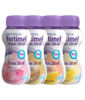 Fortimel Protein Nutriment multi saveurs caramel/vanille/fraise/mangue 4 Bouteilles/200ml à IS-SUR-TILLE